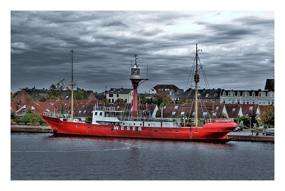 Wilhelmshaven - Feuerschiff Weser