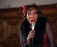 Willetta Carson eine Bluessängerin mit Ausstrahlung