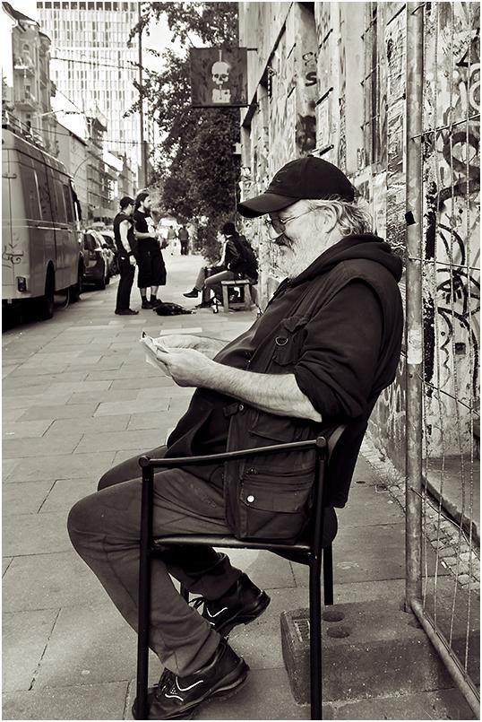 Willi wohnt noch immer in der Hafenstraße...