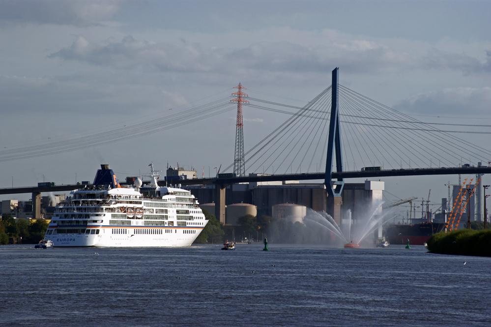 Willkommen im großen Hafen