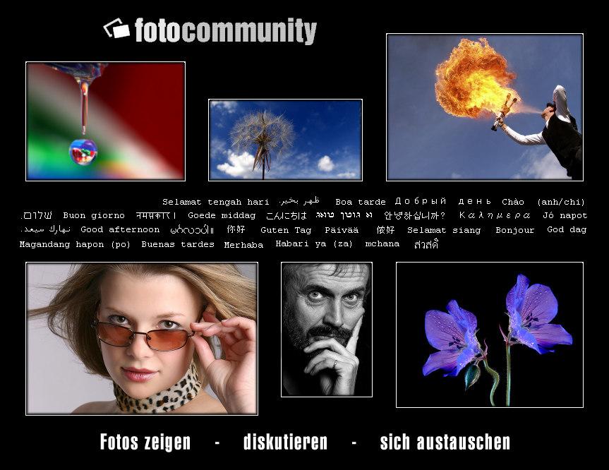 fotocommunity login