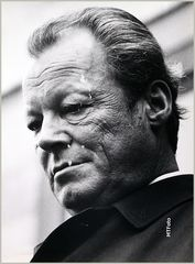 Willy Brandt SPD 1972 Kanzler Stuttgart