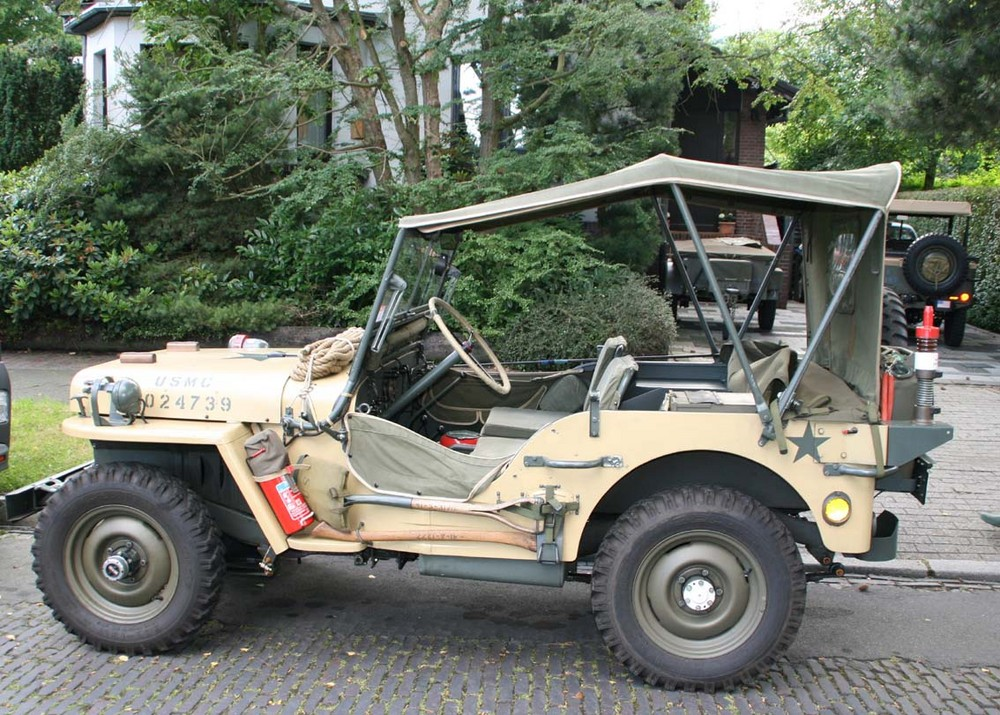 willys jeep 1942 teilnehmer am d day ii foto bild. Black Bedroom Furniture Sets. Home Design Ideas