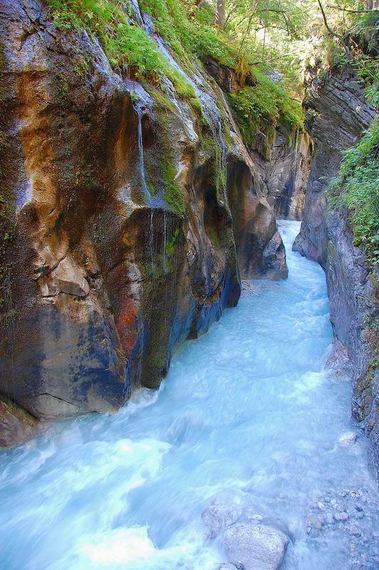 Wimbachklamm im Nationalpark Berchtesgaden
