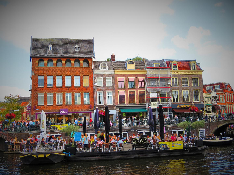 Wimmelbild Leiden NL