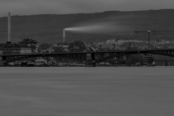 Wind am Rhein
