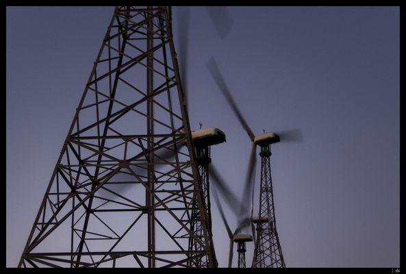 Wind + Maschine = Strom