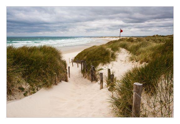 Wind, Sand und Wellen....