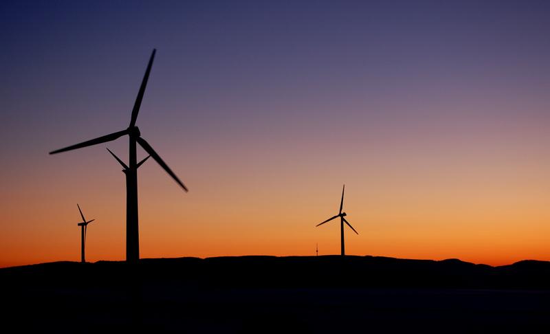 Wind und Licht