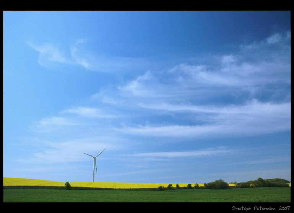 Wind und Sonne im Mai