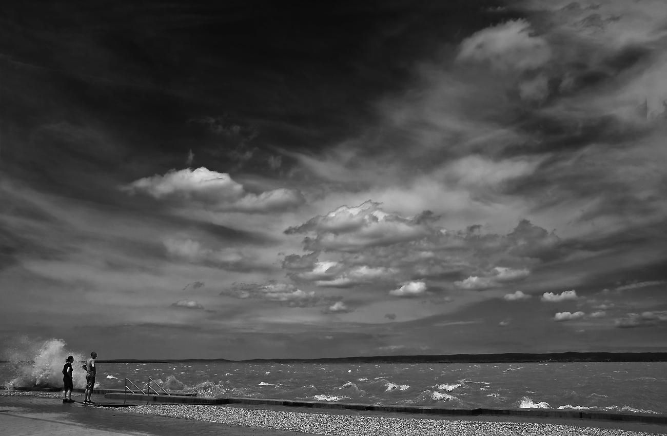 ... Wind und Wellen ...