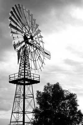 Windanlage von einst