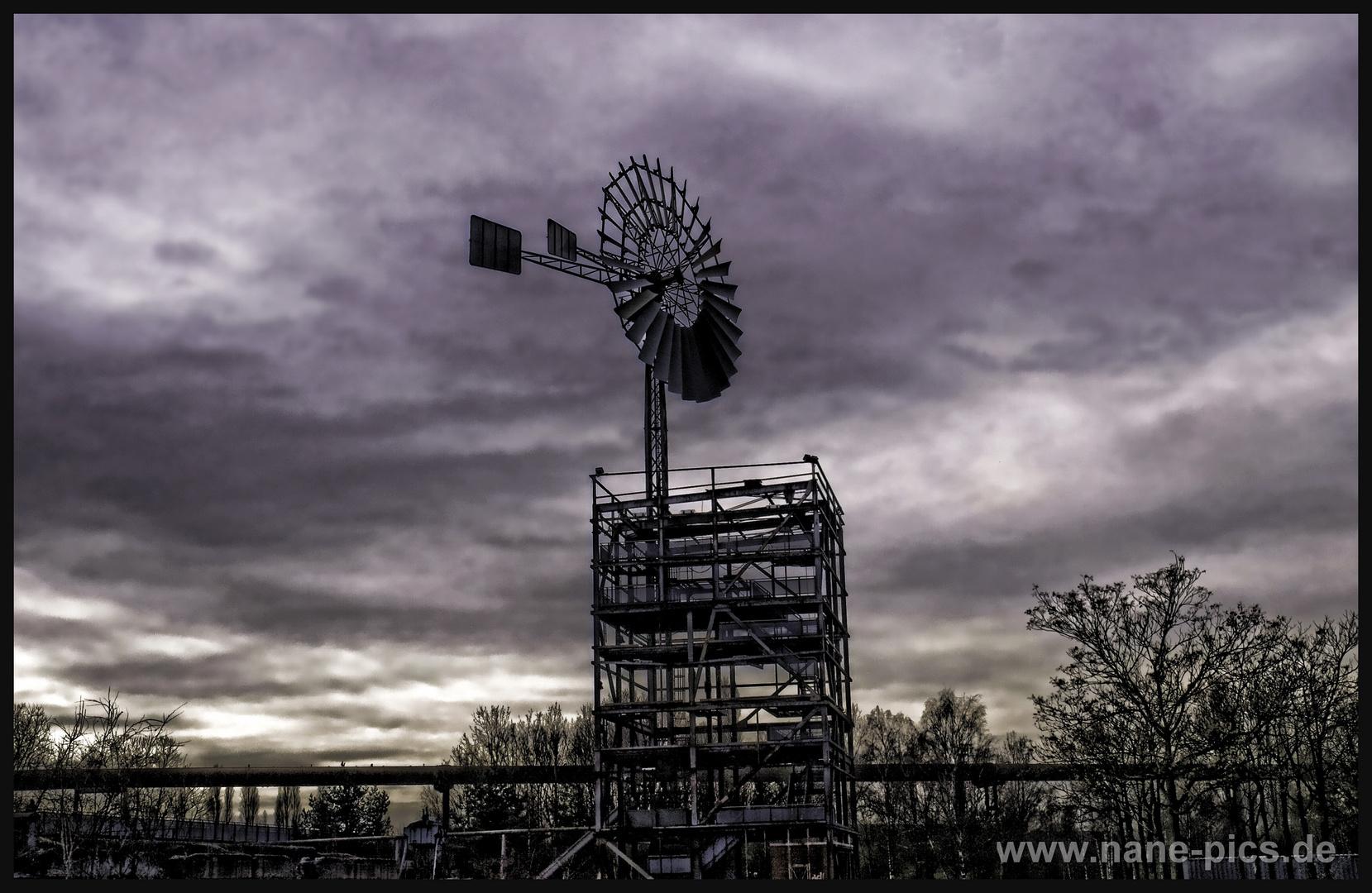 Windenergie im Dunkeln