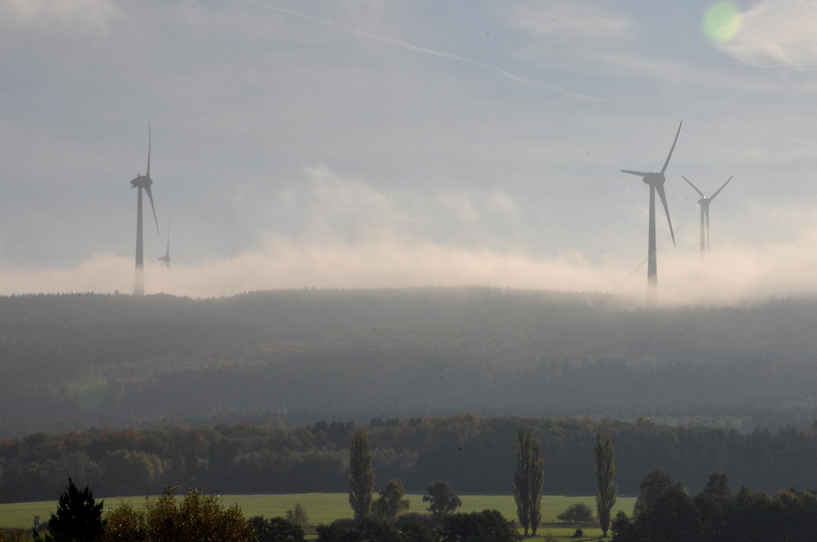 Windenergie....noch sehr nebulös