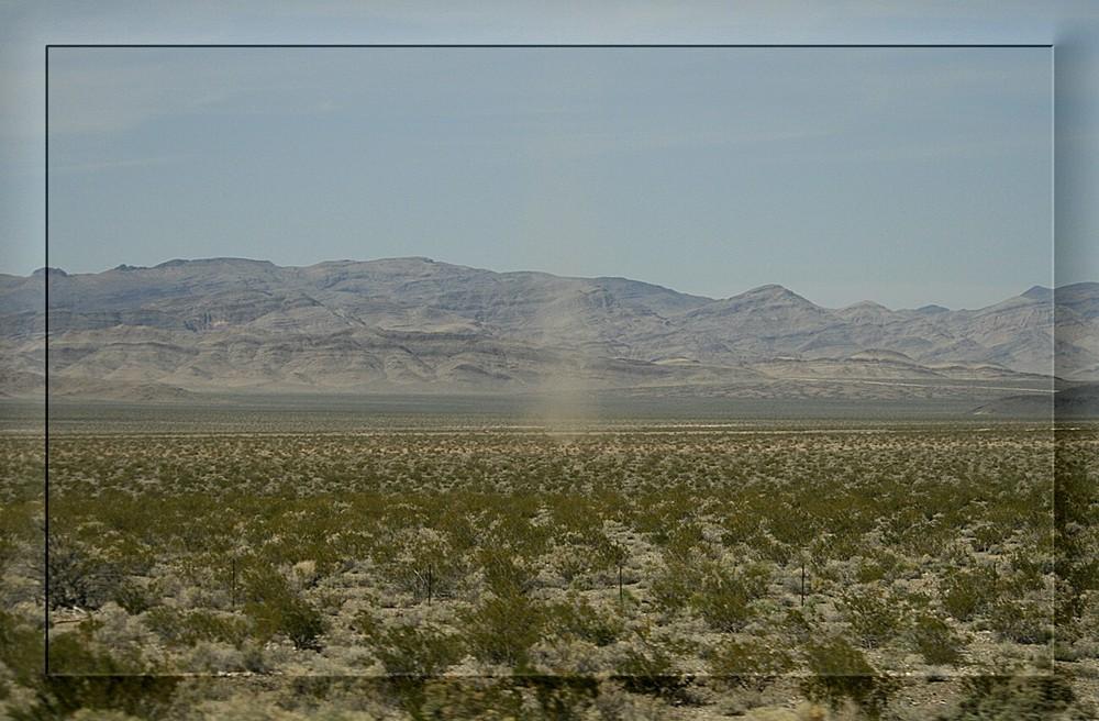 Windhose vor Las Vegas
