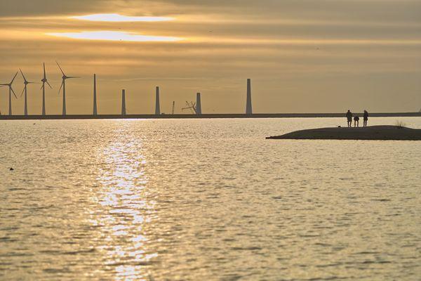 Windkraft am Meer