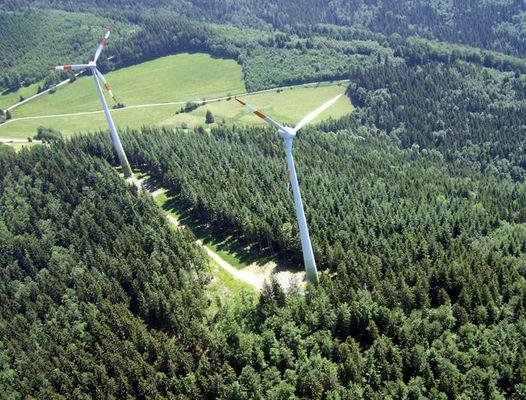 Windkraft am Schauinsland