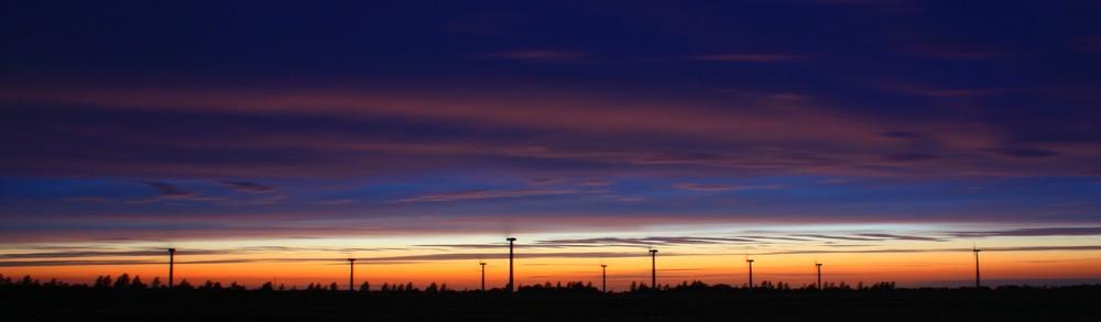 Windkraft & Sonnen Energie