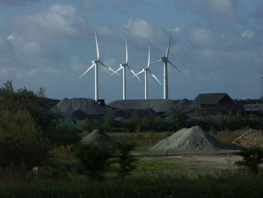 Windkraftwerk