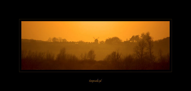 Windmill in the Sunset...