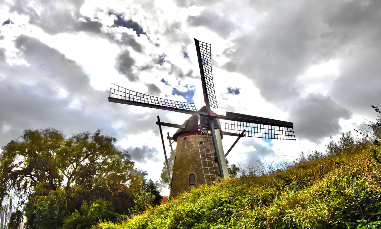 Windmill in Zeeland (Boomdijk, Veere)