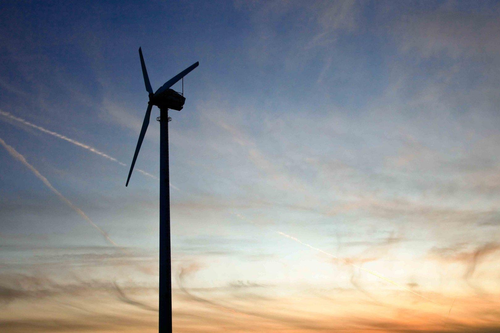 Windmühle am Eidersperrwerk