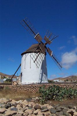 Windmühle auf den Kanaren
