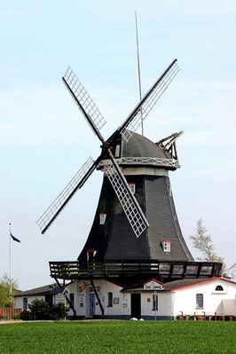 Windmühle auf Fehmarn
