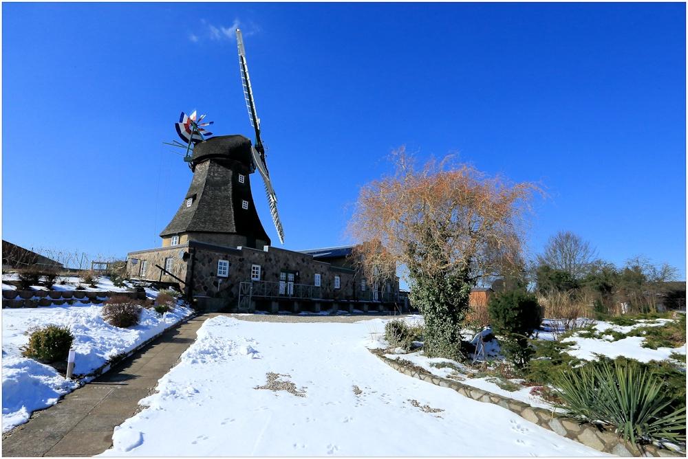 "Windmühle ""Auguste"" in Groß Wittensee"
