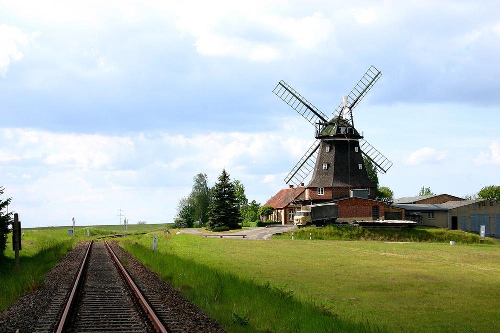 Windmühle bei Dabel