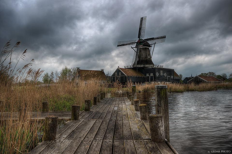 Windmühle De Rat - IJlst