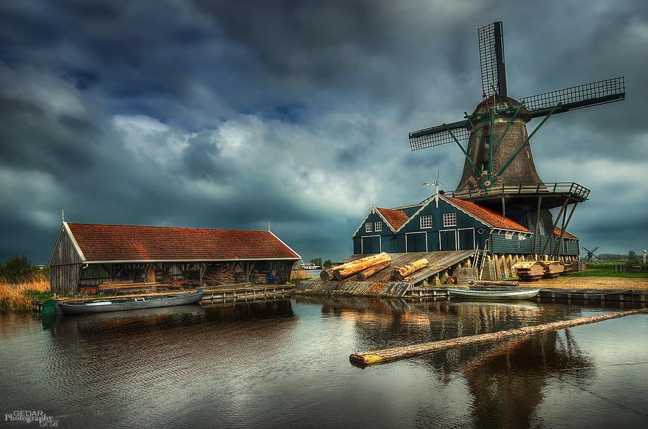 Windmühle De Rat - IJlst - NL