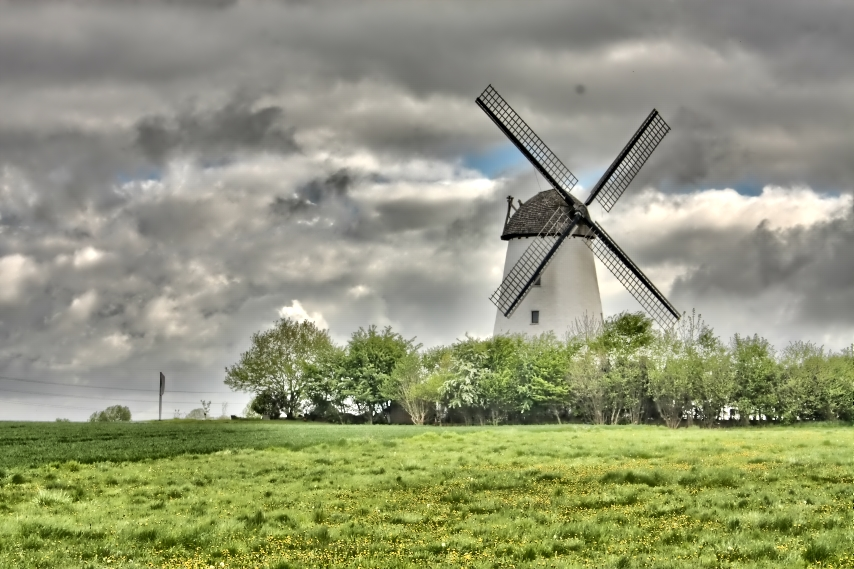 windmühle erwitte Als HDR