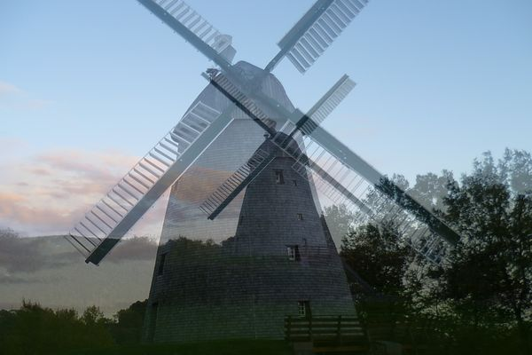 Windmühle Exter, Ostwestfalen - Collage