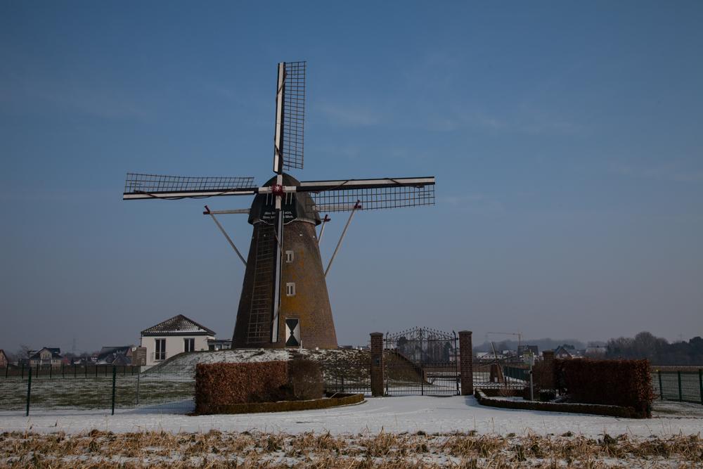 Windmühle Haaren im Schnee