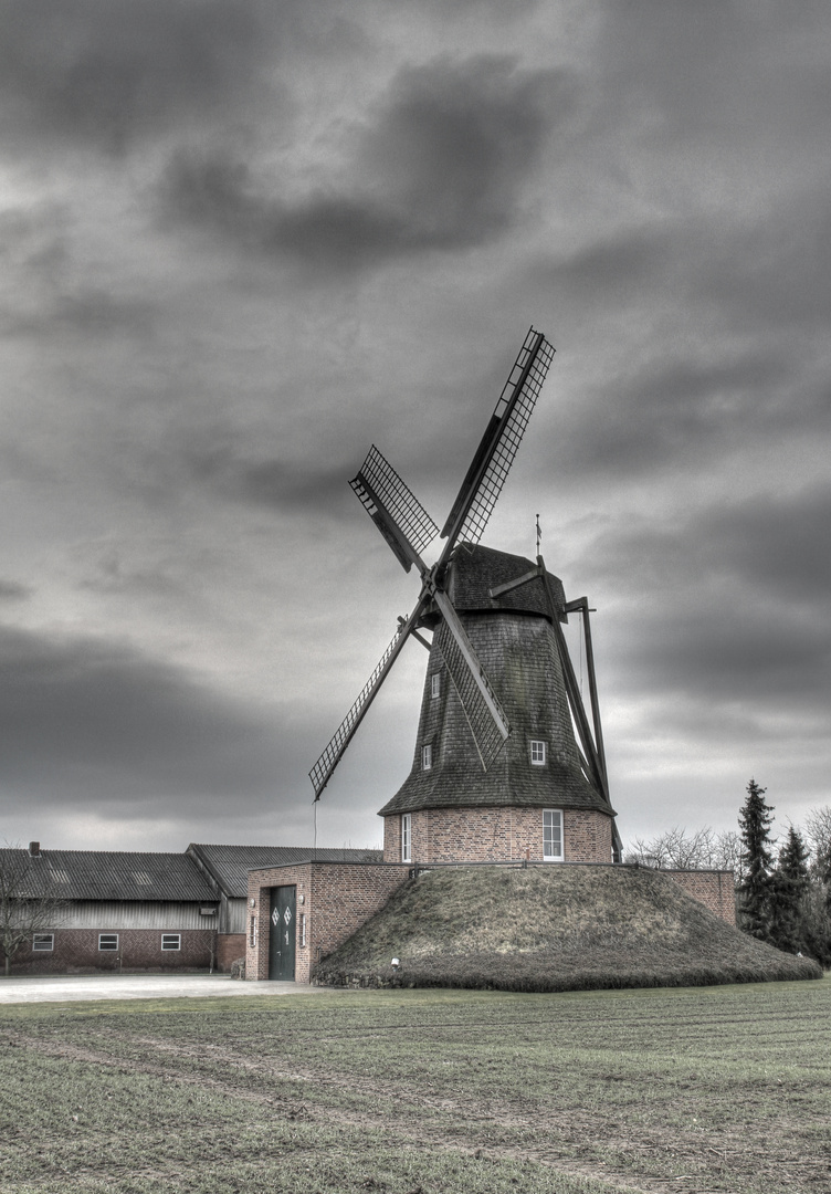 Windmühle HDR