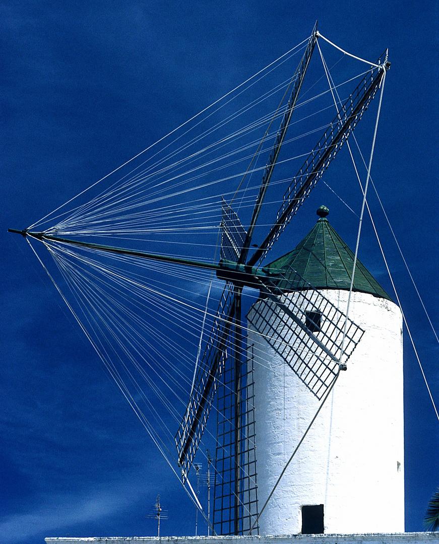 Windmühle in Ciutadella ..