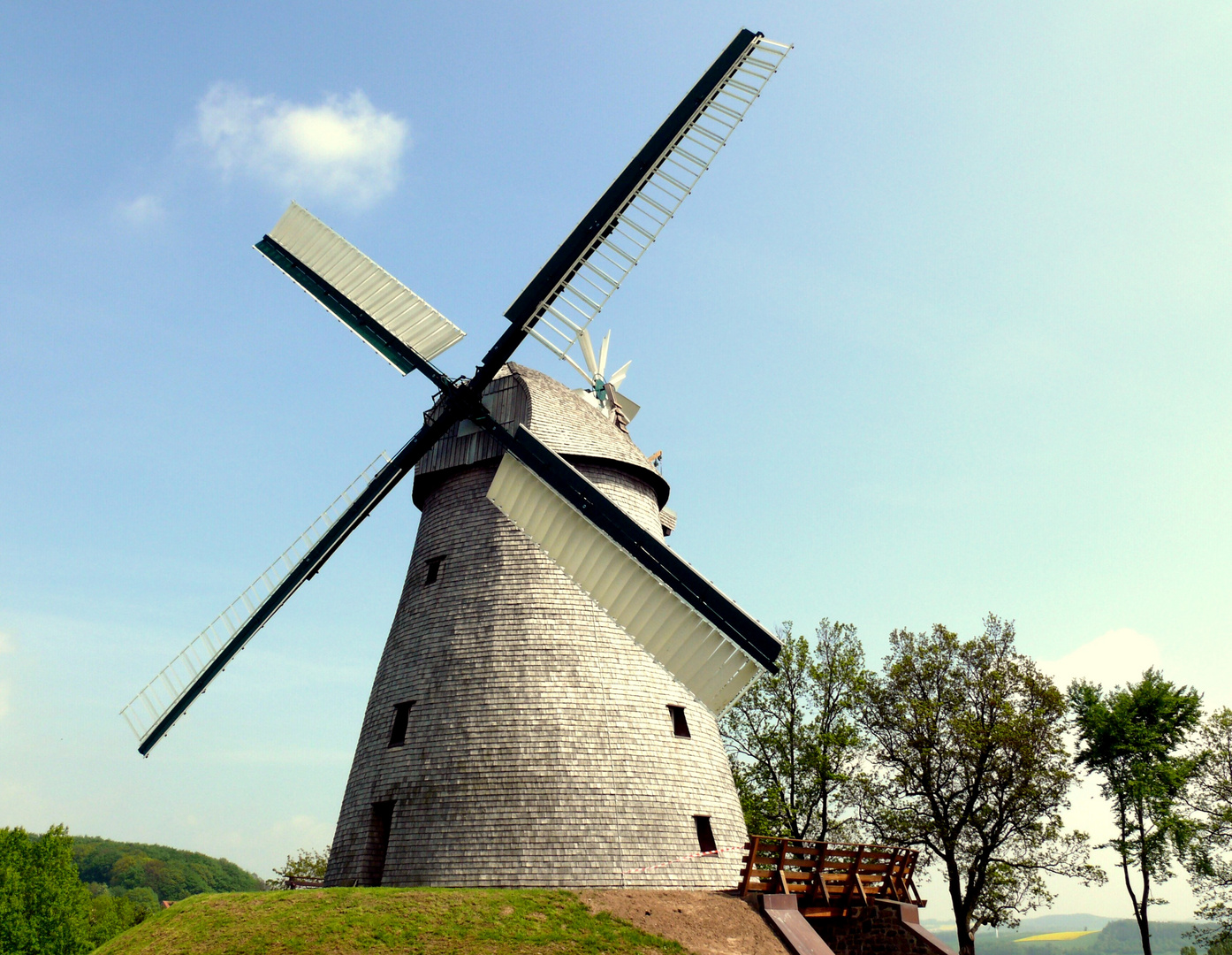 Windmühle in Exter