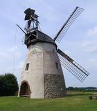 Windmühle in Hille, auf der Höchte