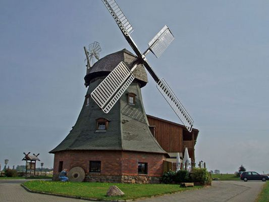 Windmühle in Kühlungsborn