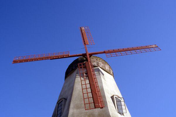 Windmühle in Solvang, Ca