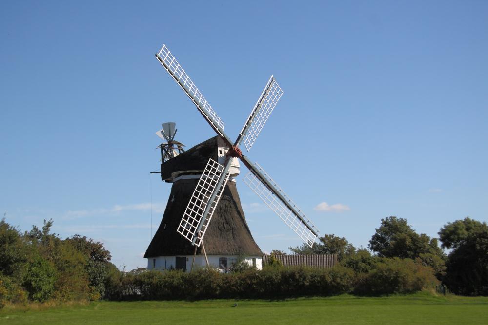 Windmühle in Wrixum, Föhr