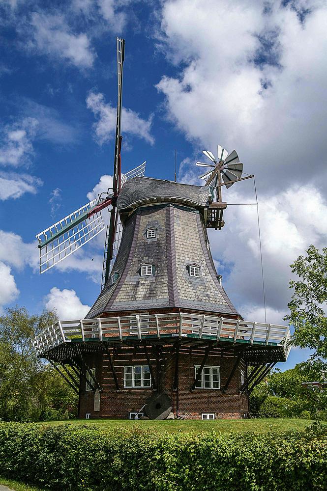 Windmühle in Wyk auf Föhr