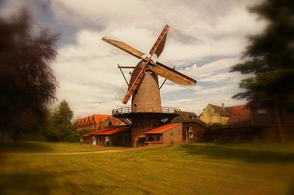 Windmühle in Xanten