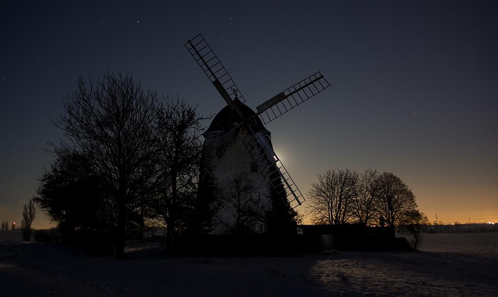 Windmühle ohne Wind....