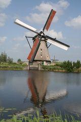 Windmühle von Kinderdijk