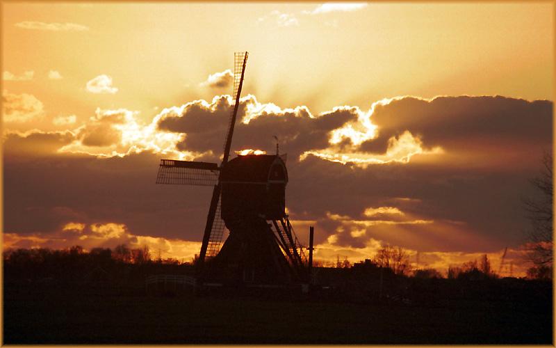 Windmühle vor dem Schlafengehen (2. Versuch)