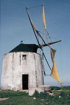 Windmühlen das Wahrzeichen von Portugal