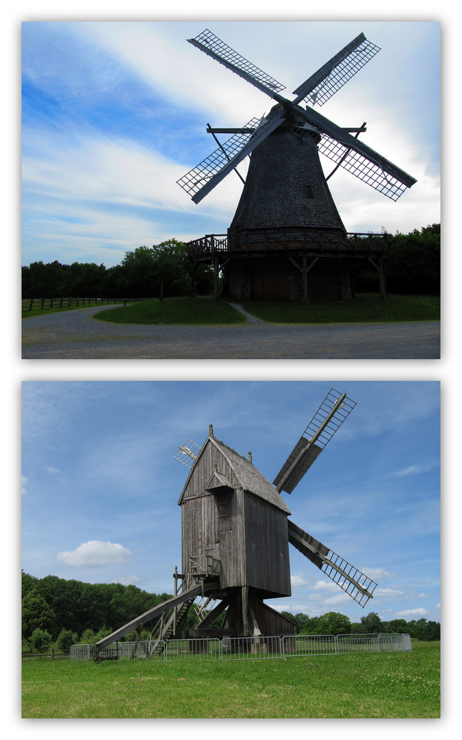 Windmühlen im Freilichtmuseum Detmold