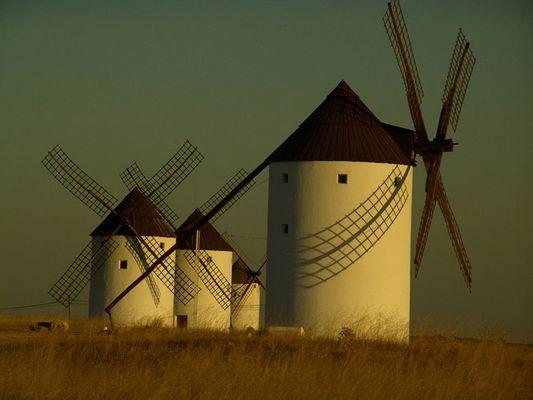 Windmühlen in Castilla La Mancha